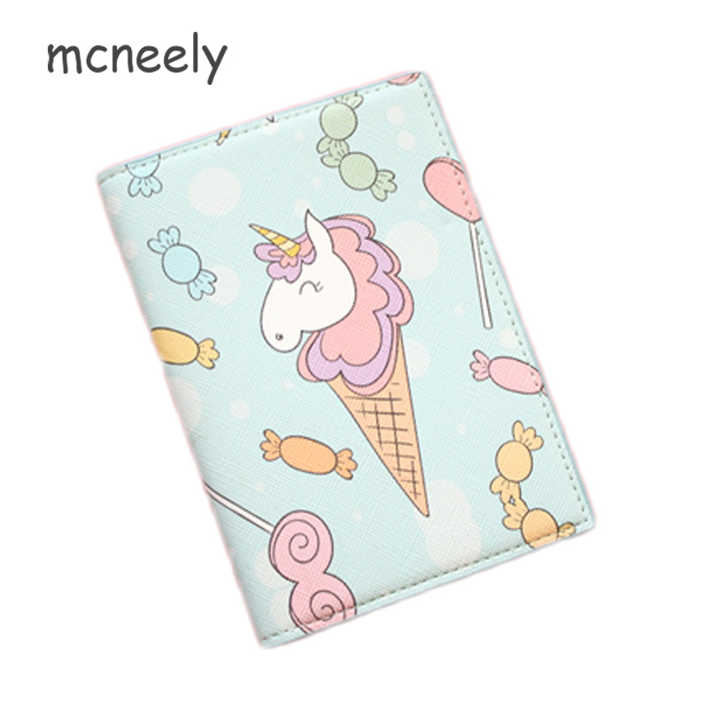 Kids Passport Case Colorful Umbrellas Circles Stylish Pu Leather Travel Accessories Passport Cover Leather For Women Men