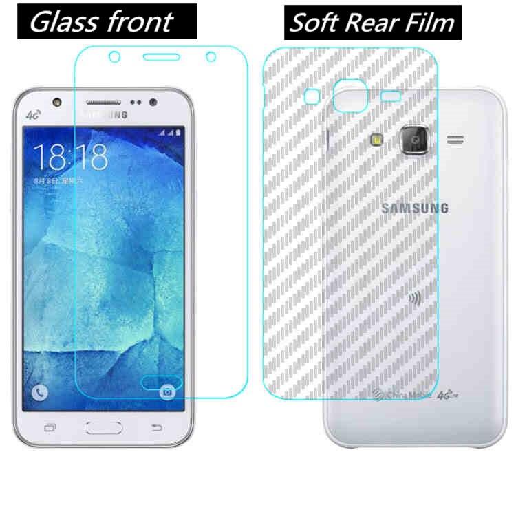 "2017 3X Film verre trempé Anti-cassé fibre de carbone Samsung Galaxy A5 5.2/"""
