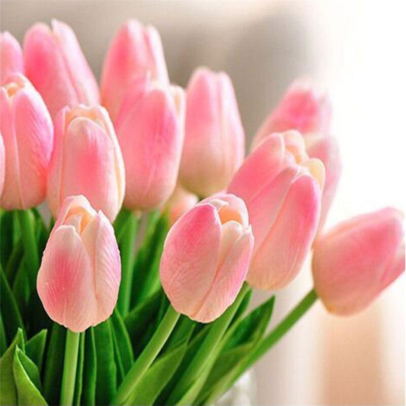 Online Buy Wholesale artificial yellow tulips from China artificial yellow tulips Wholesalers
