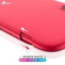 GKK Original Case for Huawei Honor magic 2 Slide in 1 Hard Matte Anti-drop Back Cover case coque Fundas