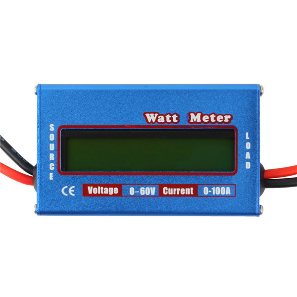 100A 60V DC RC Helicopter Airplane Battery Power Analyzer Watt Meter Balancer   Wholesale dropshipping