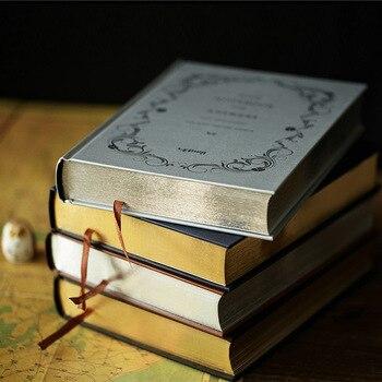 Grote Notebook Luxe Lege Innerlijke 228 Lakens 18.7*15.2 cm Dagboek Note Book Kawaii Journal Briefpapier Schoolbenodigdheden Studie