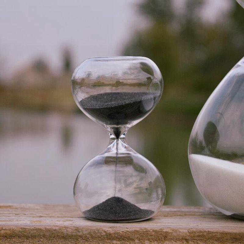Buy 9 Color Glass Hourglass Sand Timer Fashion Home