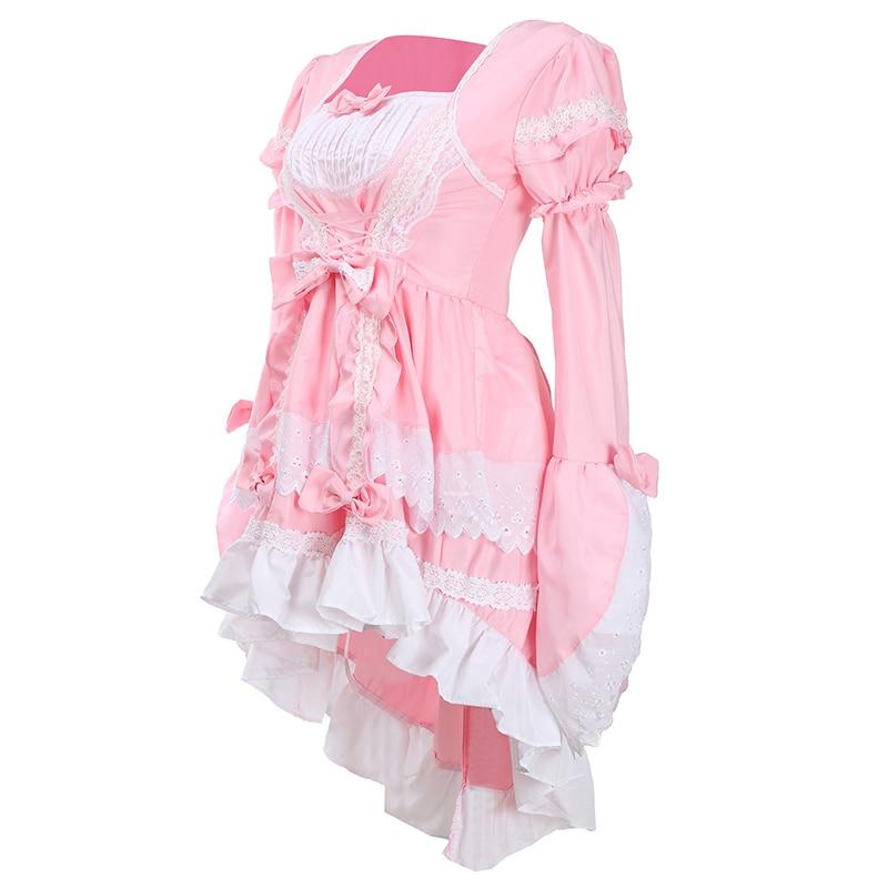 Femmes Érotique Filles Vêtements Robe Babydoll Cosplay Amovible Uniforme Lolita Sexy De Princesse Costume Party Kawaii WC5ggw8qcB
