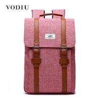 2016 Vintage Preppy Designer Belthasp Canvas Backpack Men Women School Bag Teens Laptop