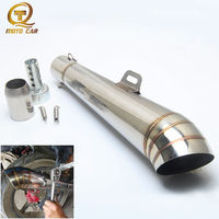 Escape Moto Gp Exhaust Muffler 51MM Pipe Universal Exhaust Motorcycle For Kawasaki Z900 Honda Yamaha Mt09 Db Killer Tube GP