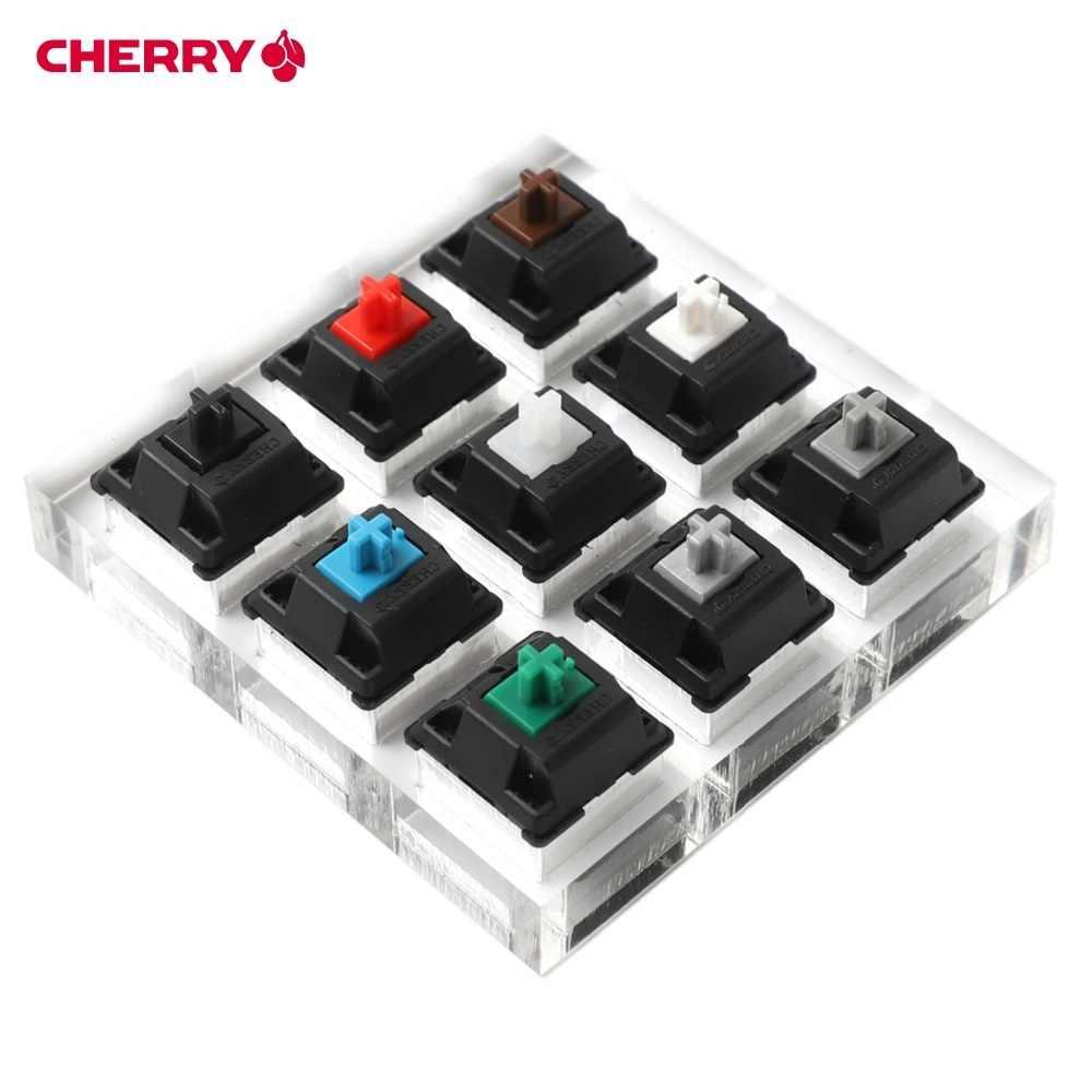4/9/12 переключатели Cherry MX прибор для проверки клавиатуры комплект ясно колпачки образец PCB механическая клавиатура полупрозрачные колпачки инструмента тестирования