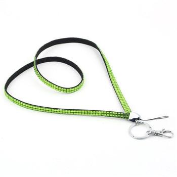 1 Piece Retail Lanyard Crystal Rhinestone Mobile Phone Neck Strap Key Holder RT RH 01