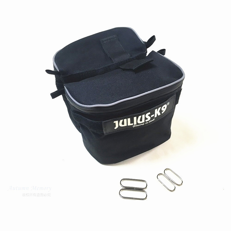 New Best-quality JULIUS K9 Dog Harness Training Bag Carrier Small Big Double Side Backpack Outdoor Pet Harness Accessories