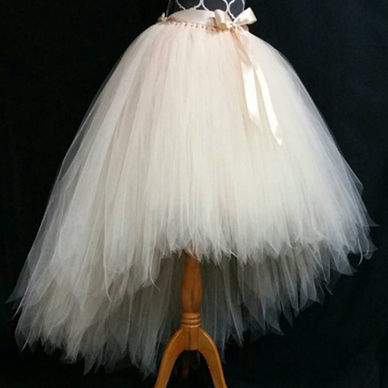 Halloween Available tutu skirt Fully LINED Champagne Tutu Adult tutu fairy cut edge bride tulle princess tutu skirt цена и фото