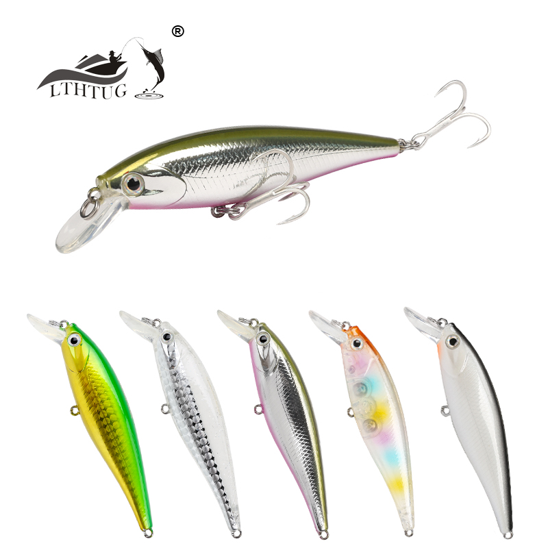 Hot Sale  Fishing Hard Lures 78mm 9.2g Superior Materials Minnow Bait With French Imports Hooks Free Shipping DW34