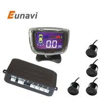 Датчик парковки обратный резервный радар ЖК-дисплей 12 В 4 Датчики 22 мм зуммер автоматический детектор системы комплект для Все автомобили
