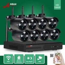 ANRAN P2P HDMI 8CH 1080P WIFI NVR 2MP Outdoor 3 Array IR Waterproof Wireless IP Camera CCTV Video Security Surveillance System