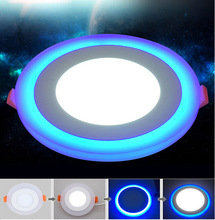 New Design Round LED Panel Downlight 6W 9W 18W 24W 3 Model Lights AC85-265V Recessed Ceiling Painel