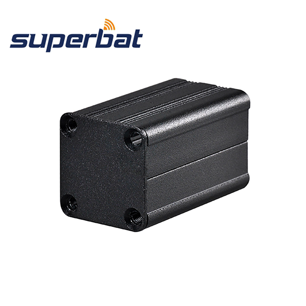 NEW 1.57″*0.98″*0.98″ Black Extruded Aluminum Project Box Electronics Instrument PCB Amplifier Enclosure Case DIY 40*25*25MM