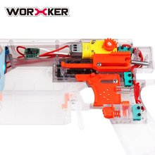 Hot WORKER Full-automatic Kit for Swordfish Blaster DIY Toy Gun Modification Ford Parts for Swordfish Easy Installation Gun Accs
