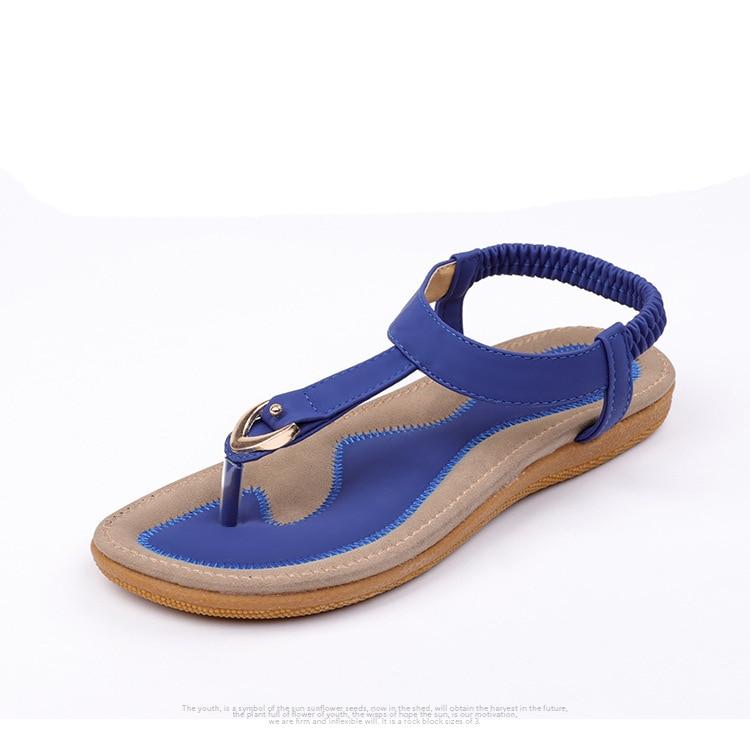 HTB16YpluviSBuNkSnhJq6zDcpXaS BEYARNE size 35-42 new women sandal flat heel sandalias femininas summer casual single shoes woman soft bottom slippers sandals