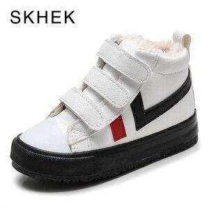 Image 2 - SKHEK 2020เด็กใหม่เด็กหญิงรองเท้าหนังมาร์ตินบู๊ทส์แฟชั่นCasualเด็กรองเท้าเด็กรองเท้ารองเท้า