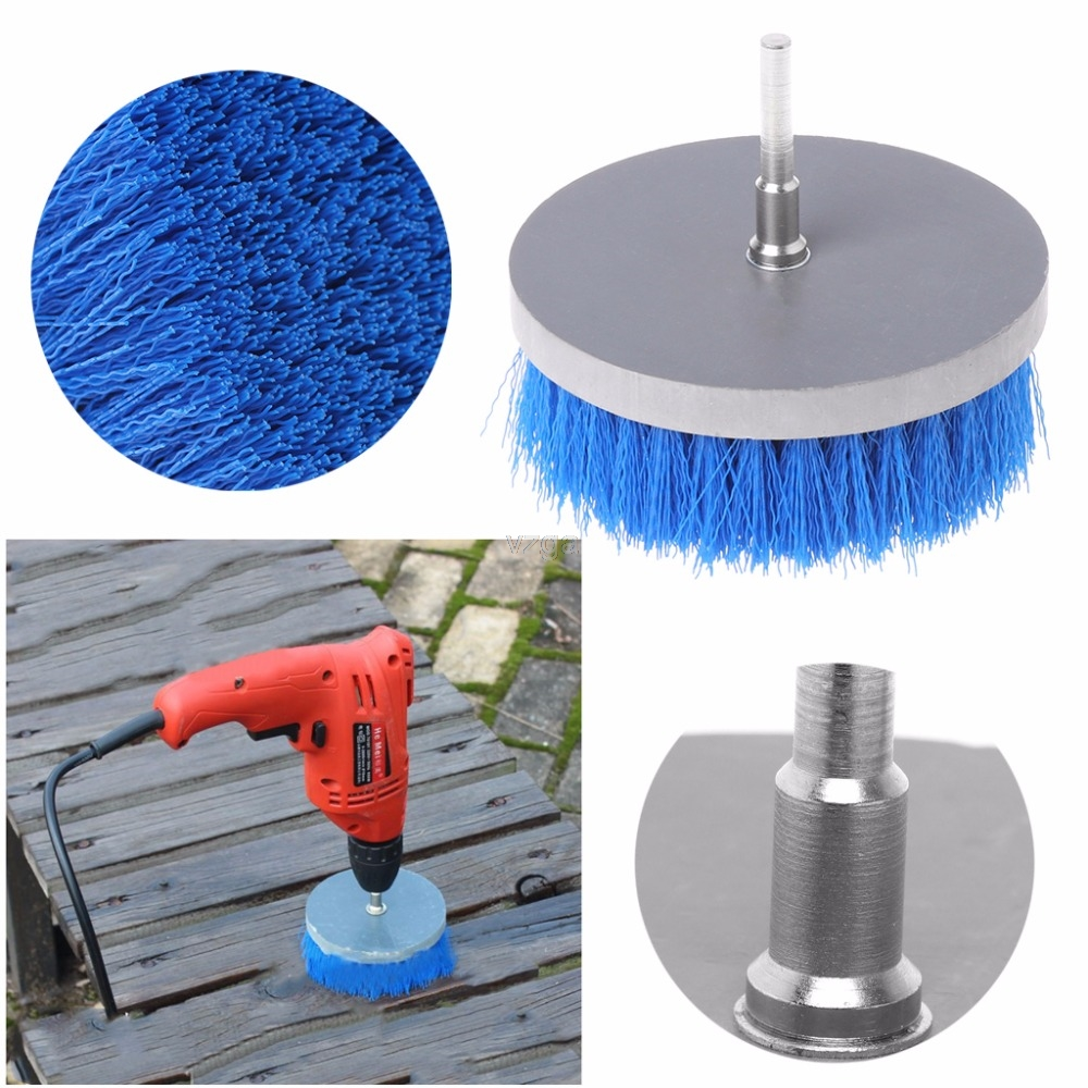 100mm Drill Power Scrub Clean Brush For Cleaning Carpet Sofa Wooden Furniture MAY22 dropship