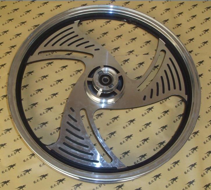 Nouveau Type GN125 QJ125 moto avant en alliage d'aluminium roue moyeu moto Scooter arrière jantes