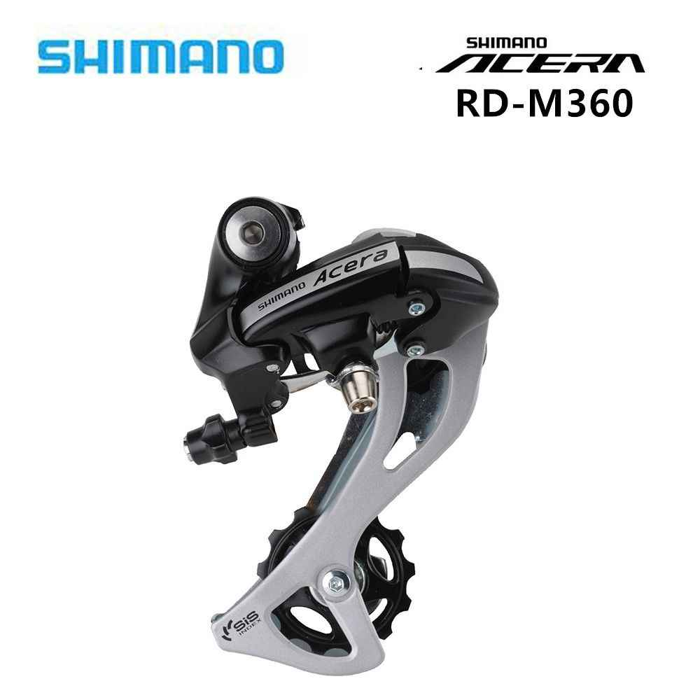 Shimano Acera RD M360 Rear Derailleur 7s 8 Speed MTB Bike Bicycle SGS Long Cage