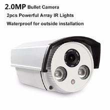 Aluminum Metal Waterproof font b Outdoor b font Bullet IP Camera 960P 1080P 3MP 4MP Security