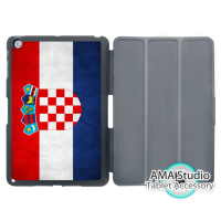 Retro Kroatië Nationale Vlag Case Voor Apple iPad Mini 1 2 3 4 Air Pro 9.7 Stand Folio Cover 10.5 12.9 2016 2017 a1822 nieuwe