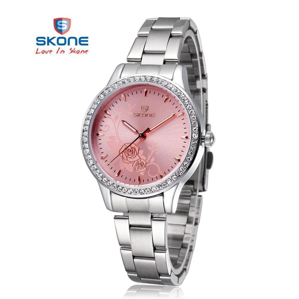 SKONE 2017 Quartz-watch Women watches Luxury famous brand Watches women female Ladies the women'Wrist Watches Relogio Femininos skone 7325 women quartz watch