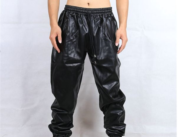YUFEIDA Men's Faux Leather Tight Pants Man Leggings PVC Long Trousers. by YUFEIDA. $ $ 16 99 Prime. Business casual faux leather pants with waist belt, Idopy Men`s Faux Leather Joggers PU Motorcycle Harem Sweat Pants. by Idopy. $ $ 35 FREE Shipping on eligible orders. 5 out of 5 stars 1. See Details. Free shipping with.