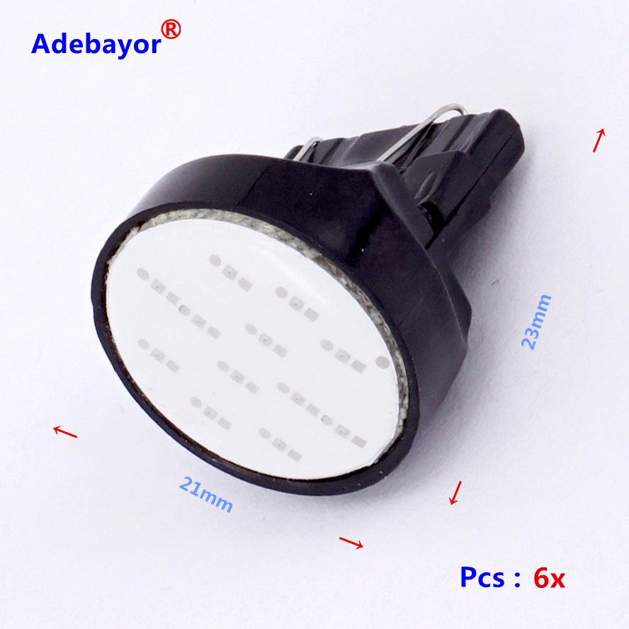 100x 5w Panel Reading Interior Light Adapter Dome T10 194 W5w Bulb Led Lamp Circuit Board121012smd China Smd 1 Instrument Dashboard Reverse Us 359 6x W21w T20 7443 Auto Cob Car Styling Parking Stop Backup Rear Front