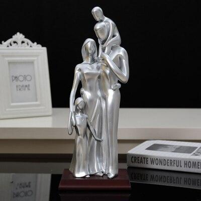 Idées cadeaux anniversaire de mariage pour envoyer son épouse anniversaire de famille de trois ameublement art résine ouverture cadeau de mariage