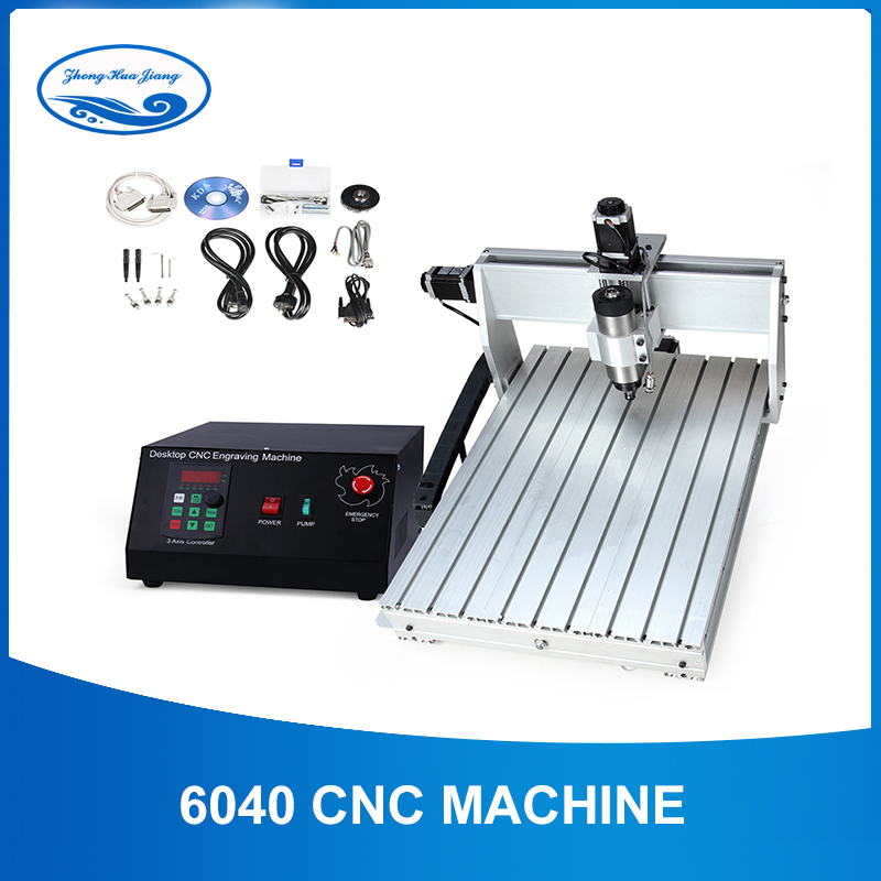 Us 810 0 20 Off Cnc 6040 2 2kw 3 Axis Cnc Router Cnc Wood Carving Machine Usb Mach3 Control Woodworking Milling Engraver Machine With Cooled Air In