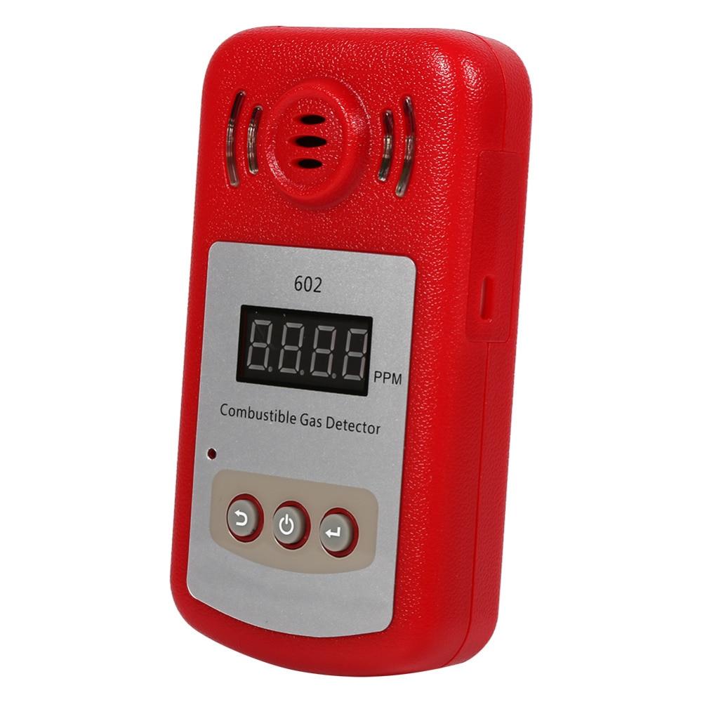 Werkzeuge Treu 300-10000ppm Gas Analyzer Detector Gas Tester Brennbaren Erdgas Methan Lecksucher Mit Sound Alarm & Licht Angenehme SüßE