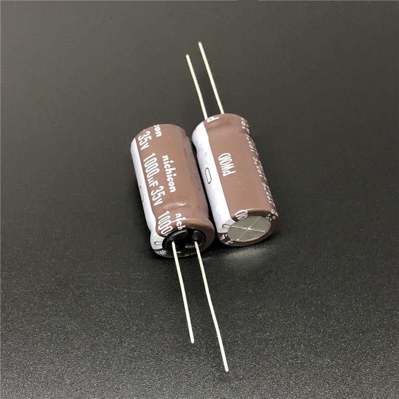 4pcs NCC 1000uf 25v Radial Electrolytic Capacitor 10x20mm 25v1000uf