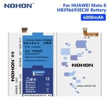 цена на NOHON 3.82V 4000mAh HB396693ECW Li-ion For Huawei Ascend Mate 8 Mate8 NXT-AL10 NXT-TL00 NXT-CL00 NXT-DL00 NXT-L09 NXT-L29