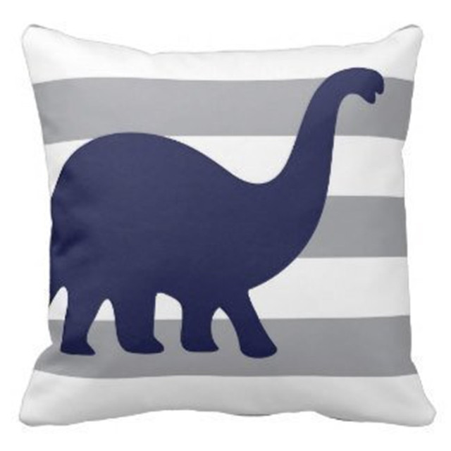 35bfe6428 Home Custom Cotton Rawr Means i Love You In Dinosaur Pillow For Kids 18x18  Inch One Side