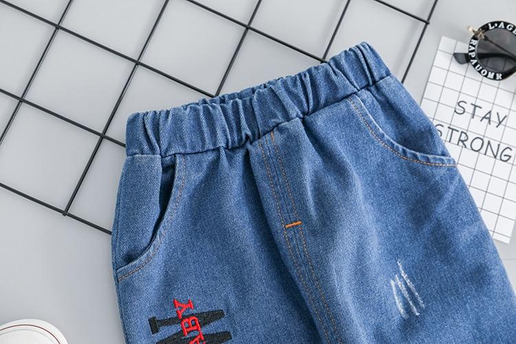 camiseta jeans roupas definir crianças mais novo