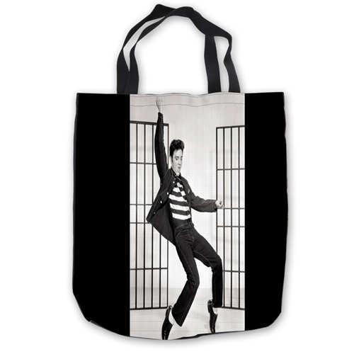 Custom Canvas Elvis-Presley- (1) Tote Hand Bags Shopping Bag Casual Beach HandBags  Foldable 180911-02-77Custom Canvas Elvis-Presley- (1) Tote Hand Bags Shopping Bag Casual Beach HandBags  Foldable 180911-02-77
