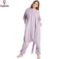 16 Style Animals Kigurumi Pajama Adult Kids Flannel Warm Disguise Anime Role Cosplay Costume Unicorn Panda