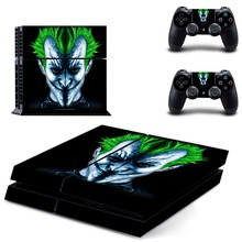 Joker Skin PS4 Sticker Vinly Skin Sticker for Sony PS4 PlayStation 4 and 2 controller skins PS4 Stickers