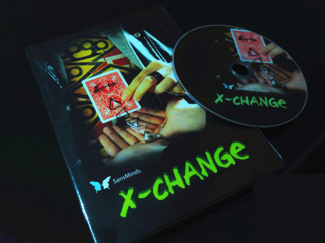 X Change - J.M magic gimmick - Trick, coin magic,magic tricks,fire,props,dice,comedy,mental magic
