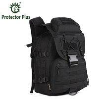 Men Waterproof Molle Trekking Bag Military 3P Tactics Backpack Knapsack Women Assault Cordura Bag Packsack Man