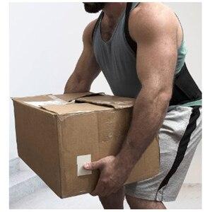 Image 1 - Ceinture de soutien lombaire pour hommes, pour douleur du dos, levage lourd, protecteur de travail, attelle lombaire, correcteur de Posture, Y002