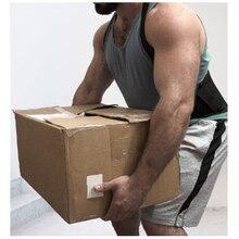 Men Back Support Belt Back Pain Heavy Lift Working Belt Protector Lumbar Support Belt Back Brace Back Posture Corrector Y002