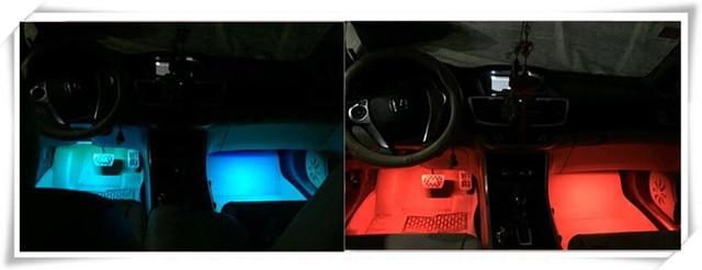 Ho 2017 Auto Styling LED Strip Verlichting Met Afstandsbediening ...