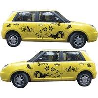 Customized stickers in the car for golf 4 5 6 7 audi A6 A5 ford fiesta passat b6 bmw mini peugeot 307 abarth Car body sticker