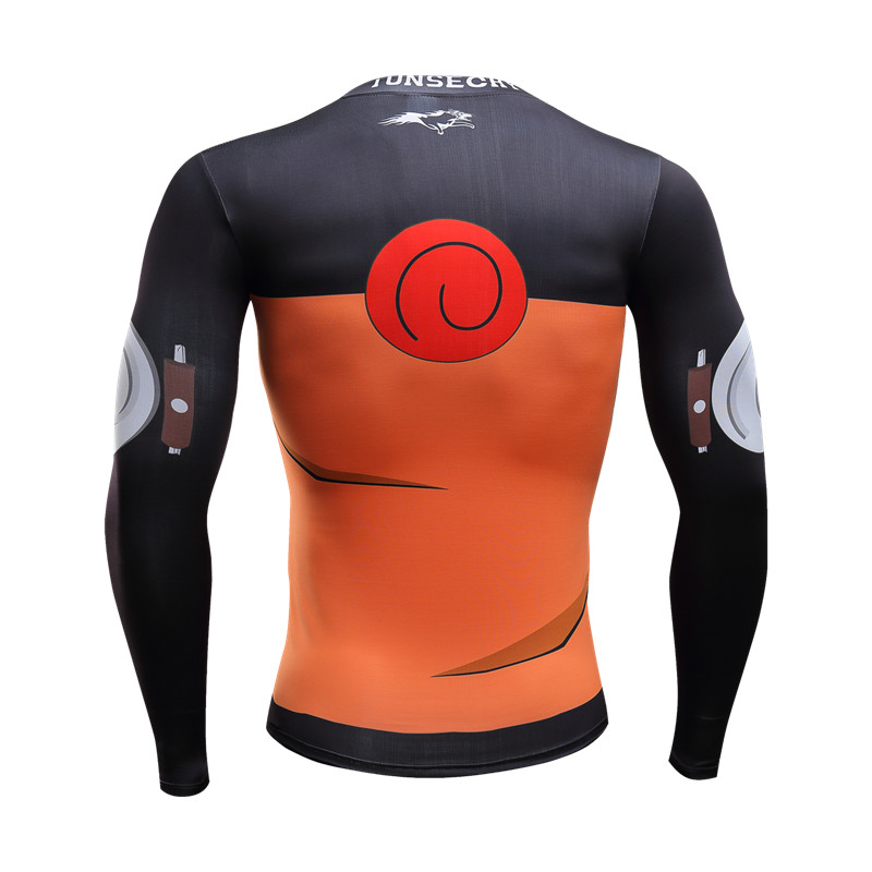 Naruto Long Sleeve 3d t shirt (10 styles)