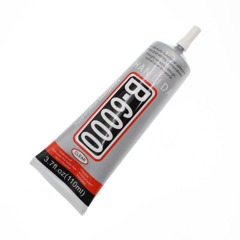110ml Super B-6000 Liquid Glue B6000 Clear Rubber Wood Textile Cloth Epoxy Adhesive Phone Touch Screen Stationery Store цены онлайн