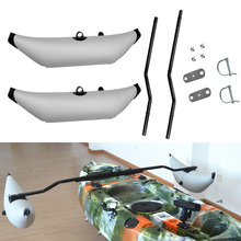 1 Set Canoe Inflatable Kayak Outrigger Stabilizer Buoy Float water Standing Stabilizer Sidekick Standing Pole Water Float Pole
