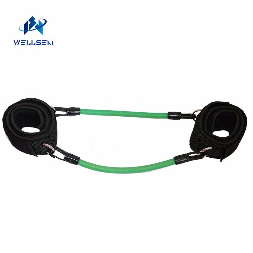 Wellsem vitesse cinétique agilité entraînement jambe course résistance bandes tubes exercice pour les athlètes Football basketball joueurs - 3